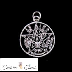 Tetragramaton de plata (1 cm)