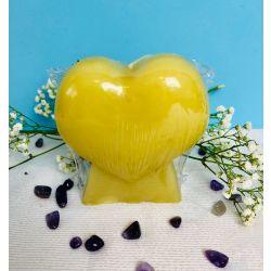 Vela corazón de miel (endulzamiento - amor)