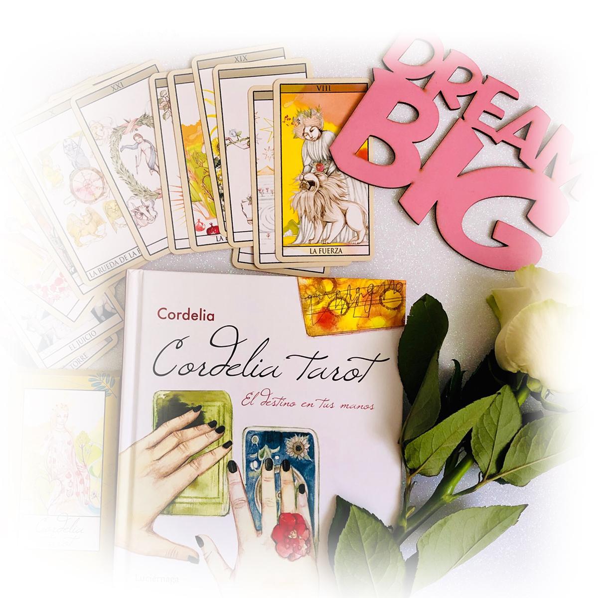 Mi Libro Cordelia Tarot - El Destino en tus manos